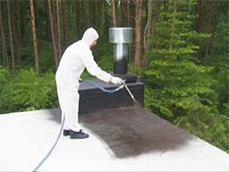 Напыляемая полиуретановая гидроизоляция статьи расход гидроизоляция обмазочная perfekta® «аквастоп» 20 кг.