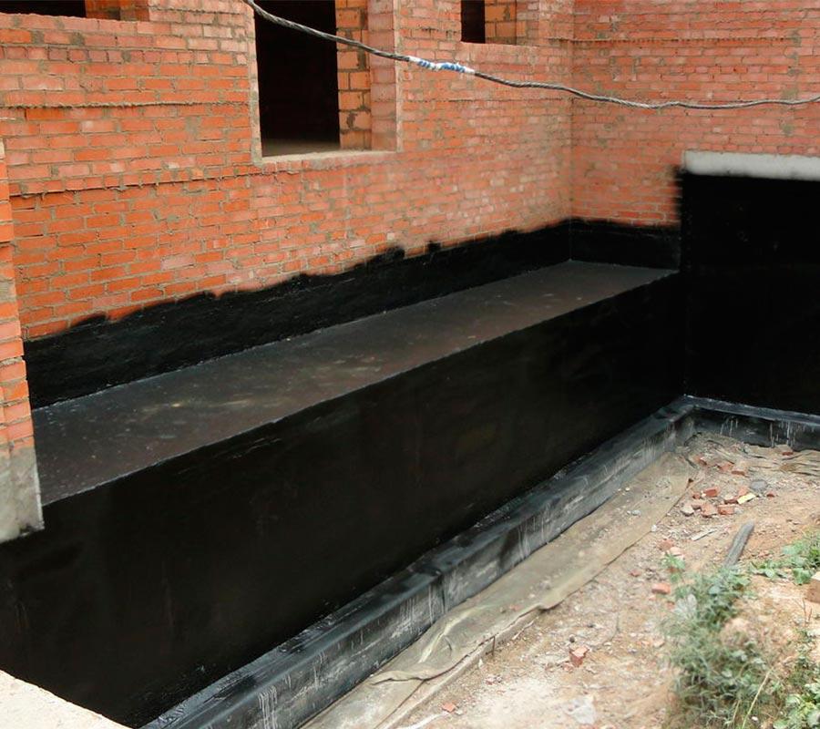 Недорогая гидроизоляция фундамента школы