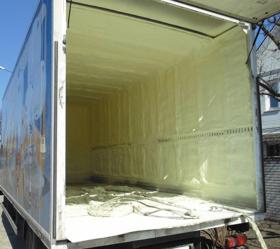 Недорогая изоляция ППУ для холодильников и рефрижераторов