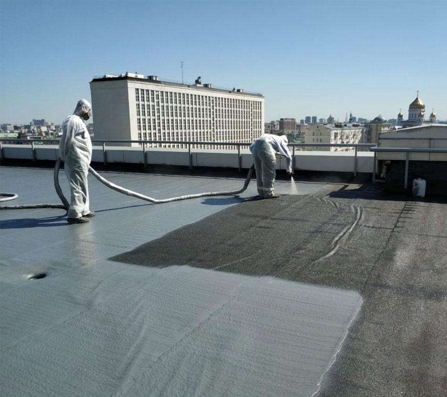 Эксплуатируемые и плоские крыши
