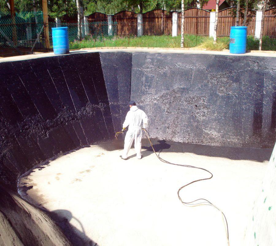 Гидроизоляция без земляных работ