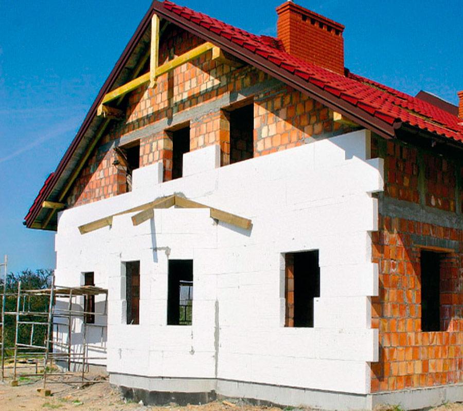 Теплоизоляция стен снаружи цена