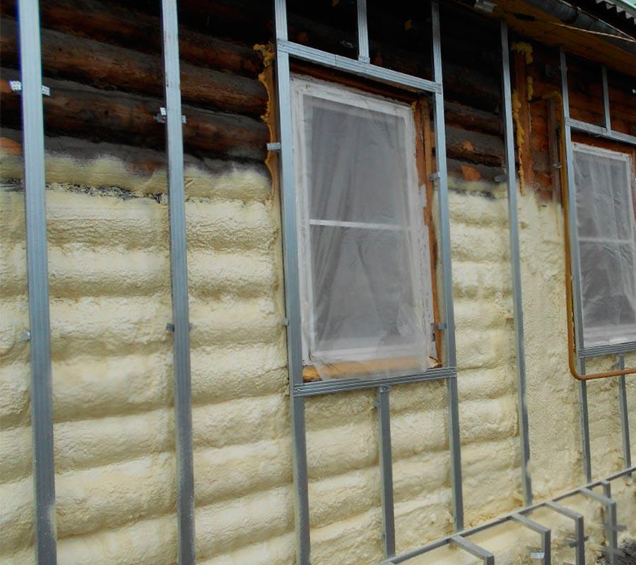 Деревянный дом утеплить пенополиуретаном