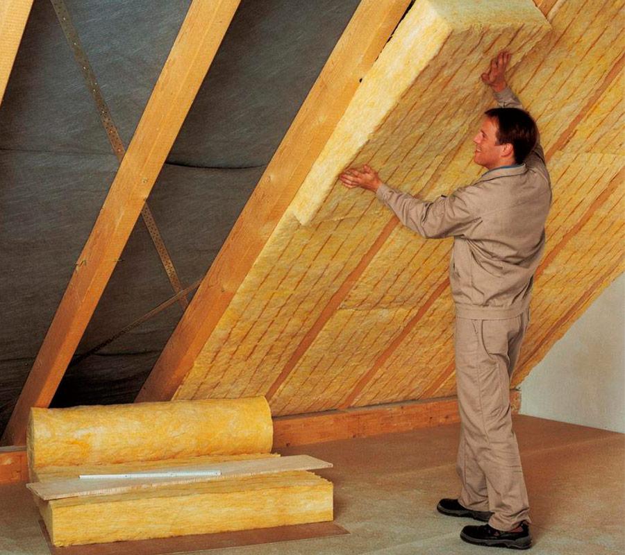 Утепление крыши дома недорого