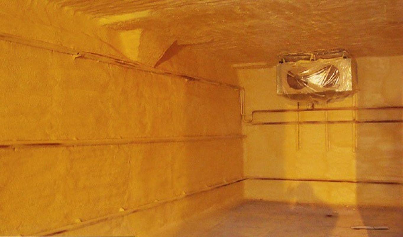 Ремонт теплоизоляции промышленного холодильника